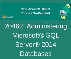 MOC 20462C - Administering Microsoft SQL Server