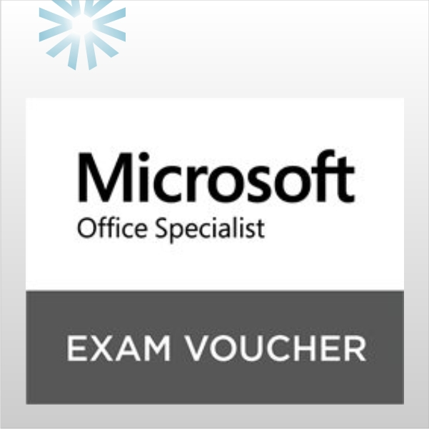 Microsoft Office Specialist Mos Exam Voucher With Retake