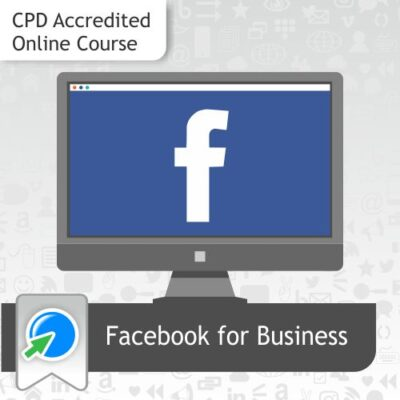 Learn how to use Facebook for Business with our distance learning online course.