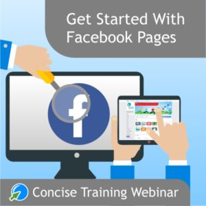 Get started with Facebook pages