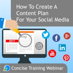 Create a Content Plan for Social Media