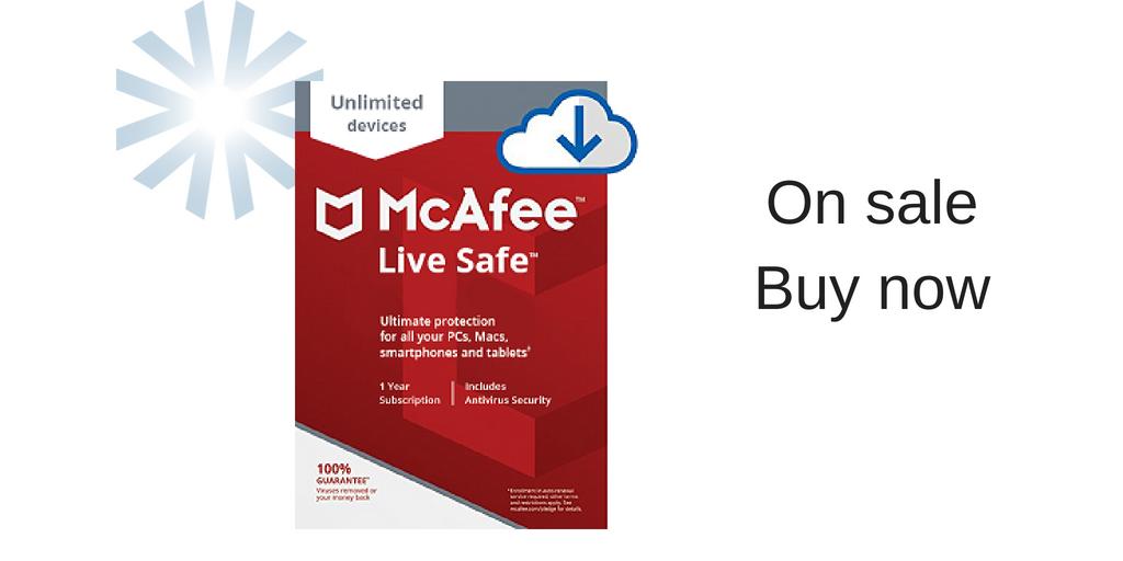 McAfee LiveSafe twit - Advantage Caribbean Institute